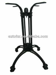 Iron Table Base Durable Black Cast Iron Dining Table Base Wrought Iron Table Legs