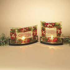 christmas decoration glass ideas decorating fused decor idolza