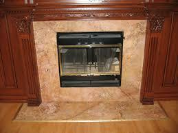 Granite Tile Fireplace Surround Granite Fireplace Surround Classic Top Fireplaces Simple