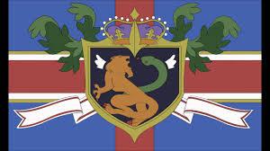 Code Geass World Map by God Save The Queen Holy Britannia Empire Code Geass Flag Youtube