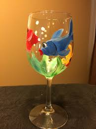 wine glass painting options let s