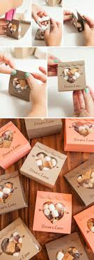 ideas for wedding favors how to make these adorable s more wedding favors