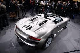 Porsche 918 List Price - porsche announces pricing on 918 spyder hybrid supercar starts at