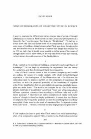 Proof Reading Worksheets Some Determinants Of Cognitive Style In Science Springer
