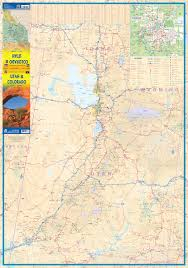 Maps Of Utah by Utah U0026 Colorado Road Map At 1 750 Itmb Publishing