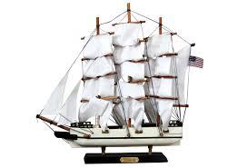 Nautical Desk Accessories by Nautical Clipper Ship Desk Model Omero Home