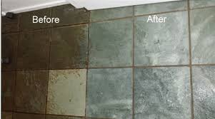 restoring slate tiles tile cleaning groutpro