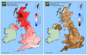 World Map Winter by Mild February Marks The End Of A Dry Winter Met Office