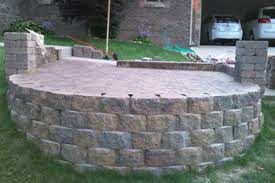 Retaining Wall Patio Paver Stones On Retaining Wall Doityourself Com Community Forums