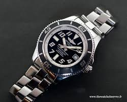 breitling steel bracelet images Test of the breitling superocean nouvelle vague the watch observer jpg
