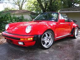 porsche 911 wide 1980 porsche 911 wide convertible turbo look no reserve for