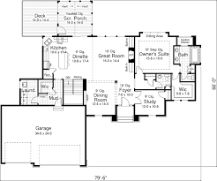 craftsman floorplans sundance craftsman home plan d house plans and more with open
