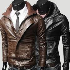 mens leather motorcycle jackets aliexpress com buy new fashion men u0027s slim turndown collar