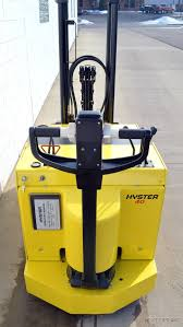 hyster w40xtc 24v electric 4000 lb walk behind forklift walkie