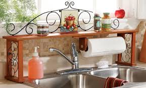 Over The Kitchen Sink Shelf Nice Design NevadaToday - Kitchen sink shelves