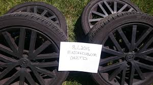mazdaspeed6 rims and tires used only in the summer months mazda
