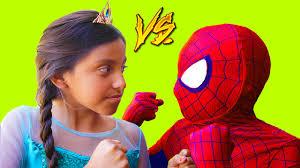 funny jokes u0026 pranks marvel superhero vs princess new movie games