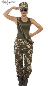 Military Halloween Costumes Camouflage Cutie Costume Army Costume Army Costume