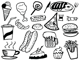 food coloring pages country coloring pages food