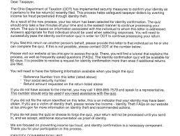 ohio tax department u0027quiz u0027 letters are real plain dealing