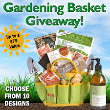 garden gift basket all about gifts baskets gardening gift basket giveaway the