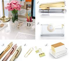 Chic Desk Accessories by Gold Desk Accessories Workshopstyle Bling Cases Notebooks