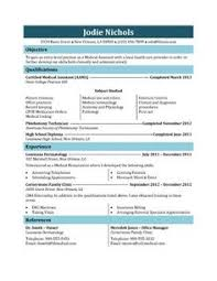 Medical Assistant Resume Template Free Medical Assistant Pictures Medical Assistant Resume Templates