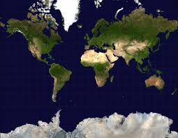 Large World Maps by Large Satellite Map Of The World Large Satellite World Map Maps