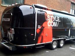new york travel trailers images Black airstream airstream pinterest airstream car wrap and jpg