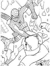 spiderman coloring free spiderman coloring