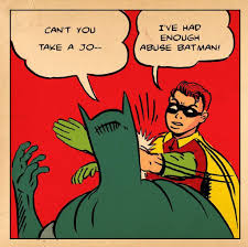 Batman And Robin Memes - origin of the batman slapping robin meme comics amino