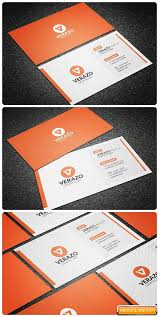 clean modern business card template free download free graphic