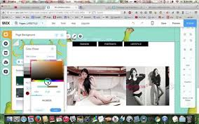 wix com how to change the background color for all pages youtube