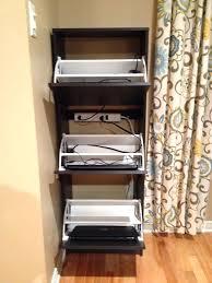 charging station shelf laptop storage shelf turn an shoe cabinet into a laptop storage