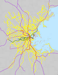 Mbta Map Subway by List Of Mbta Bus Routes Wikipedia