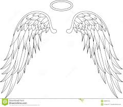 wings for you design stock illustration image of spirit