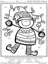 christmas math worksheets 4th grade free worksheets library