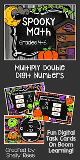 Halloween Multiplication Worksheets 3rd Grade by 6135 Best Halloween Math Ideas Images On Pinterest Halloween