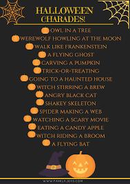 halloween salt sky utah free printable halloween charades game