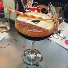 chocolate espresso martini so on fire pop up event off duty