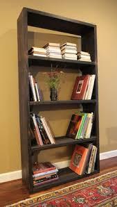 Rustic Wood Bookshelves by Kesler 4 Level Shelf Distressed Natural Shelves Natural And Woods