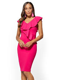sheath dress midi sheath dresses new york company 25