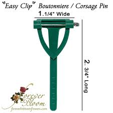 boutonniere pins easy pin boutonniere pin easy pin corsage pin easy clip pin
