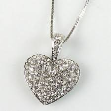 heart pendant swarovski necklace images Swarovski india 969216 puffed heart pendant swarovski austrian jpg