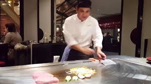 restaurant japonais cuisine devant vous live cooking kamome restaurant japonais mövenpick hôtel ève