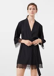 robe de chambre femme tunisie robe de chambre fluide dentelle femme mango tunisie