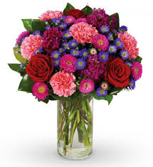 send cheap flowers and carnation mixed bouquet flowers carnation