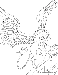 mythological creatures coloring pages download and print for free