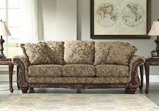wood trim sofa traditional sofa sets ebay
