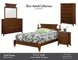 Amish Oak Bedroom Furniture by Solid Wood Furniture In The Amish Tradition